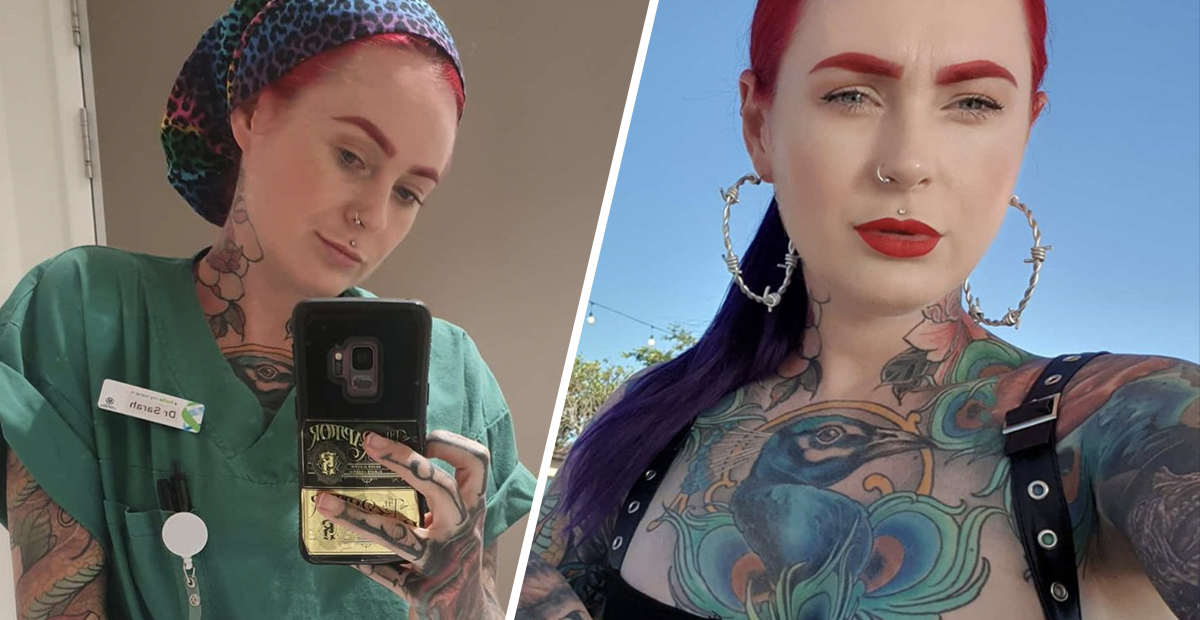 World S Most Tattooed Doctor Claims She S Faced Discrimination About Her Appearance