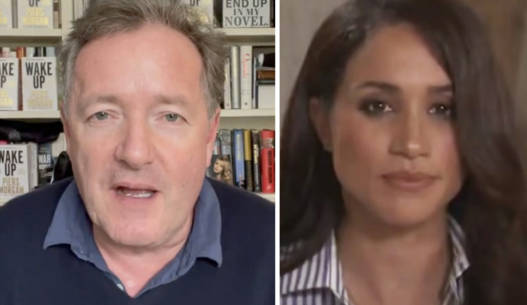 Piers Morgan claims he quit Good Morning Britainafter he was told he needed to 'apologise' to Meghan Markle over the controversial comments he has made.