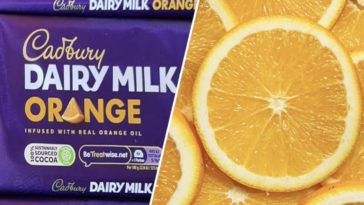 Dairy Milk Orange