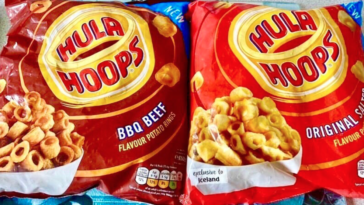 Hula Hoop Potato Rings