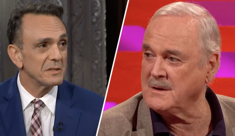 John Cleese hits back at Hank Azaria's Simpsons apology with a mock tweet