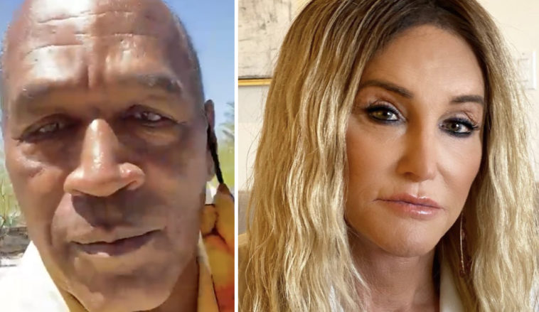 OJ Simpson made his views on transgender athletes competing in women's sports very clear in a recent social media rant.