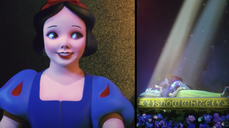 Disneyland's Snow White ride has been given an overhaul.