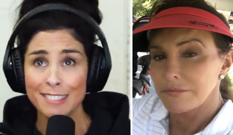 Sarah Silverman calls out Caitlyn Jenner.