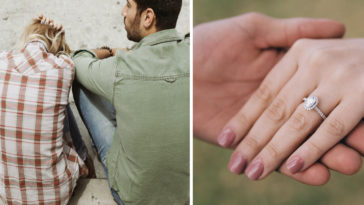 Man spends £14,000 on engagement ring.
