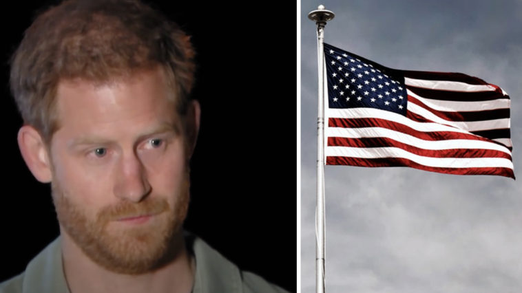 Prince Harry dubs America's First Amendment 'bonkers'.