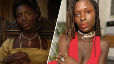 Jodie Turner-Smith opens up about racist backlash after playing Anne Boleyn.