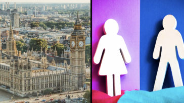 The UK government had no plans to recognise non-binary as a legal gender identity.