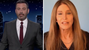 Caitlyn Jenner, who is currently running for governor, has slammed Jimmy Kimmel for calling her 'Trump in a wig'.