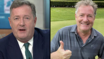 Piers Morgan, who recently revealed he's going on a 'hugging ban,' says that he will get his job back at Good Morning Britain by 'identifying as a woman'.