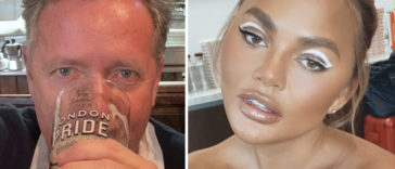 Piers Morgan wants Chrissy Teigen, who is facing a backlash for sending out 'awful tweets,' to be cancelled following trolling allegations that have resurfaced.