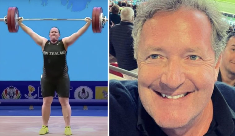 Piers Morgan, who recently dubbed Meghan Markle 'Princess Pinocchio,' is now ranting about the Olympics' first-ever transgender athlete, Laurel Hubbard.