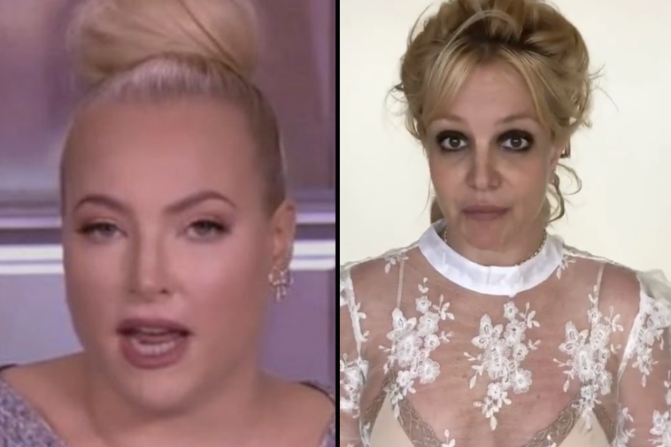 Meghan McCain wants the FBI to 'extradite' Britney Spears from her home following her bombshell testimony.