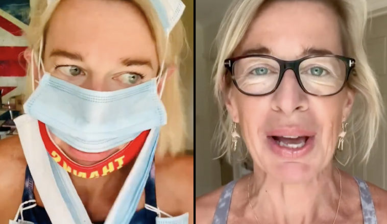 Katie Hopkins has reportedly been deported from Australia after making 'jokes' about breaching the country's quarantine rules.