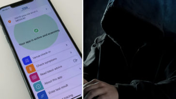 A woman has claimed that she was sent creepy messages by an NHS Test and Trace worker who managed to find her Instagram account.