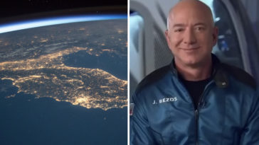 Jeff Bezos, the Amazon founder, and crew are now celebrating a successful space flight.