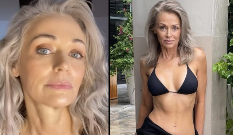 Sports Illustrated's bikini model, Kathy Jacobs, aged 57, says that 'old is the new hot'.