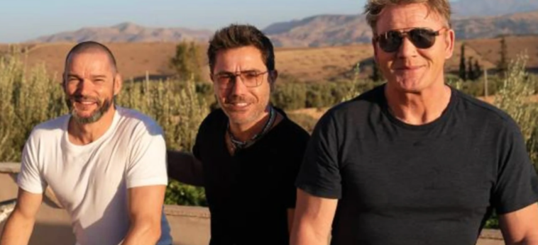 Gordon Ramsay, Gino D'Acampo and Fred Sirieix will be heading to Greece for the next series of Road Trip.
