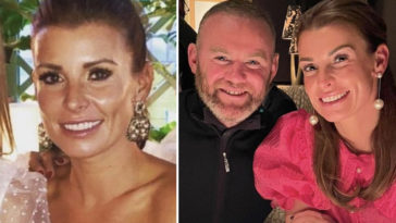 Coleen Rooney claims husband Wayne was 'stitched up' with the leaked hotel photos.