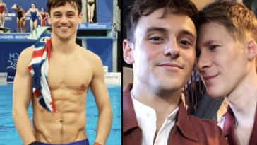 Tom Daley is married to Dustin Lance Black.