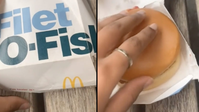 A Muslim TikToker has alleged that bacon was put in their Filet-O-Fish sandwich at McDonald's.