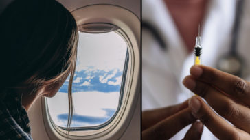 Two travellers have been fined approximately £17,968 ($25,000) for faking and providing Covid vaccination documents.