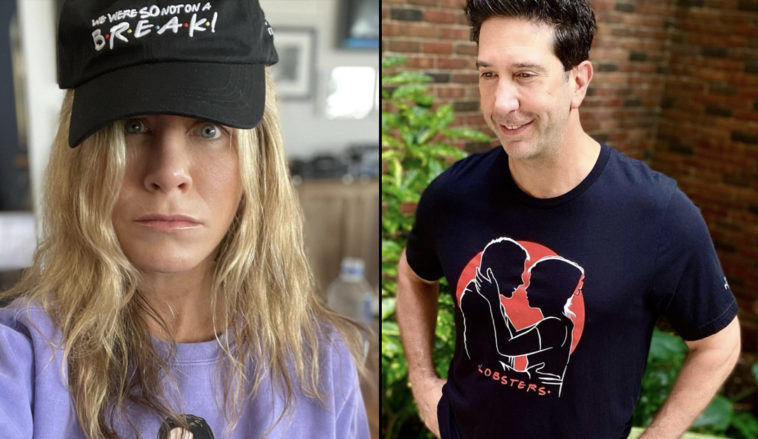 David Schwimmer has addressed the romance rumours circulating about him and former Friends co-star, Jennifer Aniston.