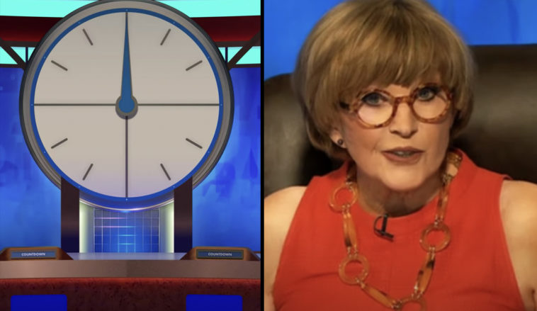 Countdown bosses have apologised for reportedly airing an offensive gay slur.