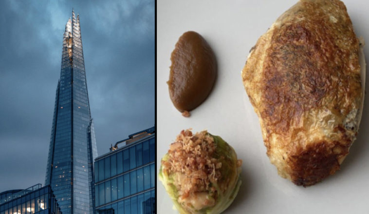A diner has reportedly slammed a meal they spent £30 on at a fancy London restaurant.
