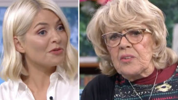 An 82-year-old gran left This Morning's Holly Willoughby and Phillip Schofield gobsmacked with her 'cheeky' confession about her Egyptian toyboy.