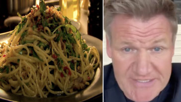 Gordon Ramsay's 'perfect' pasta recipe has divided the Hell's Kitchen star's fans on his YouTube channel, Cooking Basics.