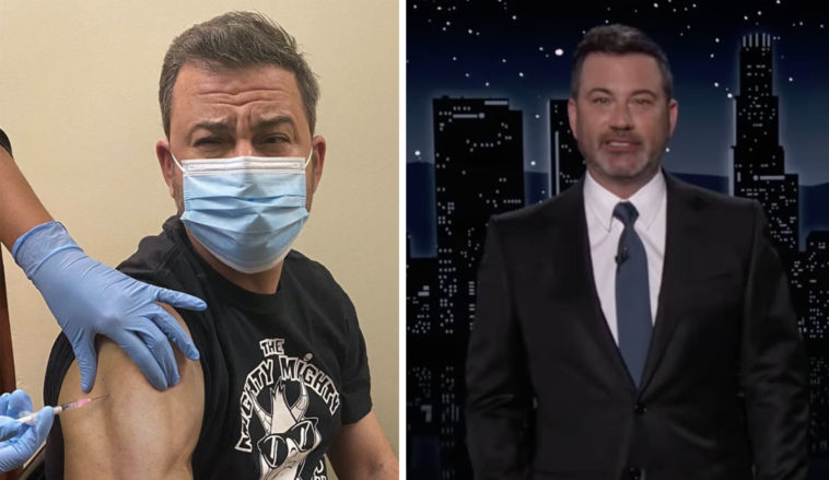 Jimmy Kimmel has split opinion by saying unvaccinated people shouldn't be given beds in Intensive Care Units.