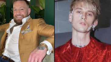 Conor McGregor, 33, and Machine Gun Kelly, 31, 'got into a fight' at the VMAs red carpet event, according to reports.