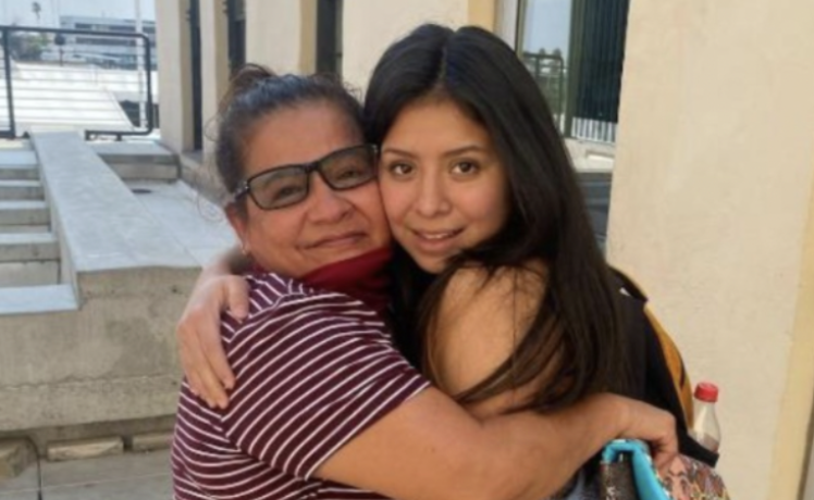 A woman has been reunited with her mum 14 years after she was abducted from her home.