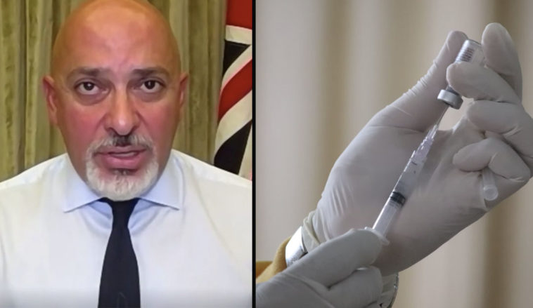 Children as young as 12 could get vaccinated against Covid-19 without parental consent, according to the ex Vaccines minister Nadhim Zahawi.