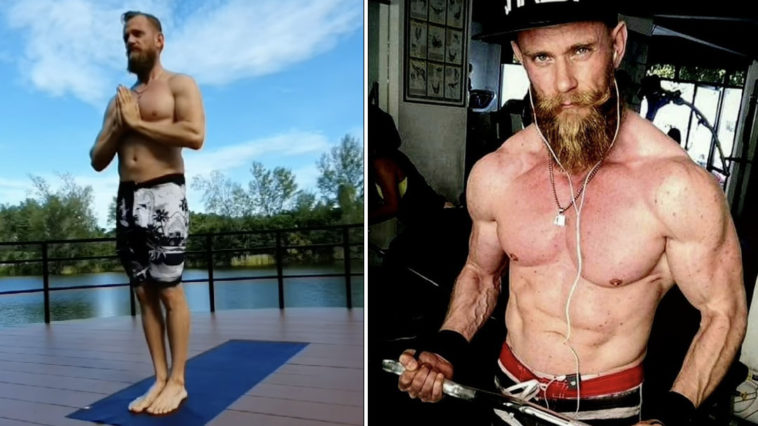 A vegan bodybuilder who used to eat meat every day has claimed it made him 'fat and depressed' and meant he could never build the 'physique he dreamed of'.