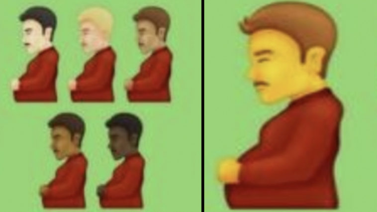 A pregnant man has been confirmed among the 37 diverse new emojis, according to reports.