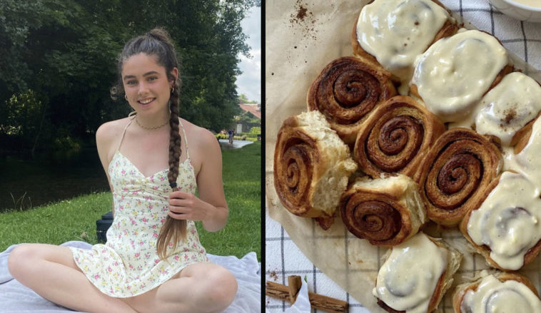 Great British Bake Off's firstvegan contestant has deleted social media after being trolled for her love of horse-riding.
