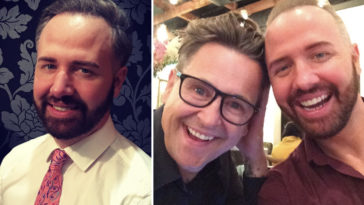 Former Gogglebox star Chris Ashby-Steed's partner has claimed his husband was betrayed by show bosses, who 'went behind his back'.