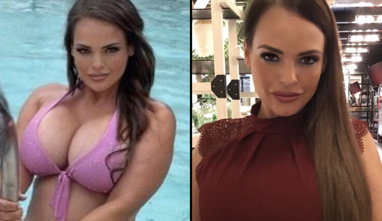 An ex-Page 3 model has said she's no longer anti-vax after nearly dying from Covid twice, according to the Mirror.