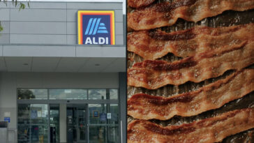Aldi's vegan bacon has caused a stir over the supermarket's choice of name for the product.