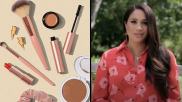 Meghan Markle has sparked rumours she is launching her own beauty line, as she was spotted at the owner of a beauty marketing firm's estate.