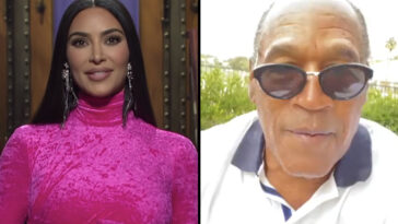 Kim Kardashian made a controversial comment about OJ Simpson on Saturday Night Live and it's left viewers divided on social media.