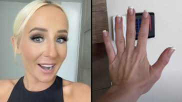 A woman on TikTok claims to have a chip implanted in her hand that opens doors and cupboards in her home.