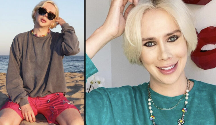 A 'transracial' influencer, who 'identifies as Korean,' has told their followers they're 'finishing what Michael Jackson started'.