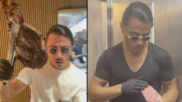 Salt Bae, who was recently blasted for his 'unethical' service charge, has reportedly been forced to shell out $230,000 to four ex-employees who accused him of 'conning them' out of tips.