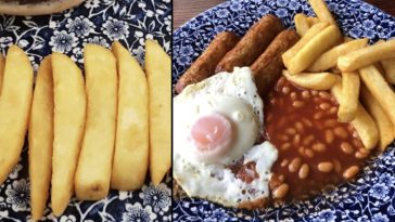 A Wetherspoons chip portion page has gone viral and the internet is in hysterics.