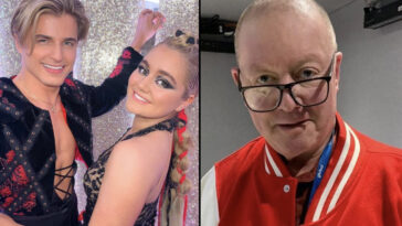 Strictly Come Dancing's Tilly Ramsay has slammed LBC radio host Steve Allen for branding her 'chubby' live on his show.