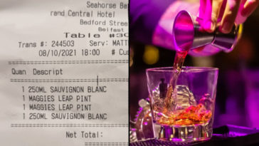 A guy is facing a backlash on social media after posting a picture of an 'insane' bill he received at a posh hotel.
