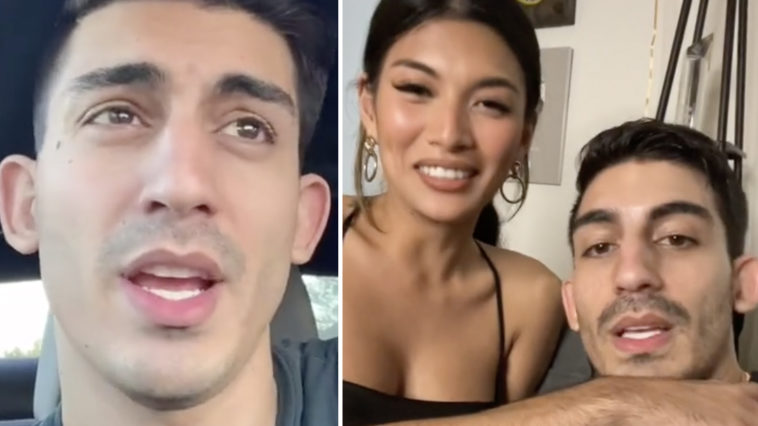 TikTok star Ali Abulaban, who goes by the name JinnKid on social media, has been accused of the double murder of his 'newly-estranged' wife and a man she was with, according to reports.